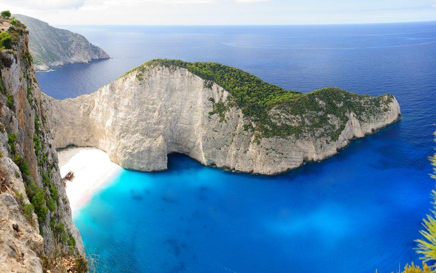 den greske øya zakynthos